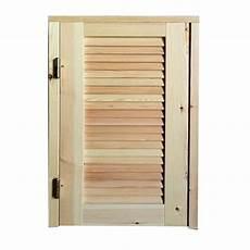 persiane in legno fai da te persiana in legno 1 anta con telaio su misura