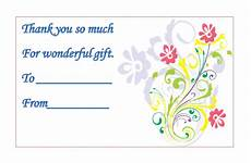 thank you card template microsoft word templates