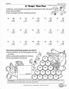 subtraction with regrouping worksheets with boxes 10735 two digit subtraction with regrouping worksheets for second grade print for class