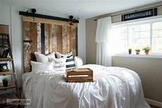 bed frame plank headboard funky a cheater reclaimed wood barn door headboard with faux