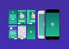 mobile free free readymade mobile app design presentation mockup psd