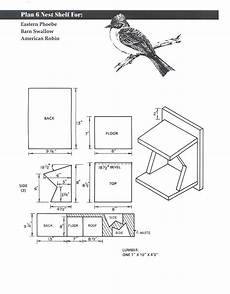 swallow bird house plans tree swallow birdhouse plans