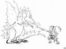 Ausmalbilder Drachen Und Ritter Malvorlagen Ritter Und Drachen Malbild