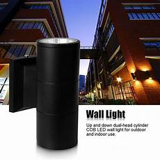 6w 10w wall light up down dual head led sconce lighting l indoor outdoor ebay
