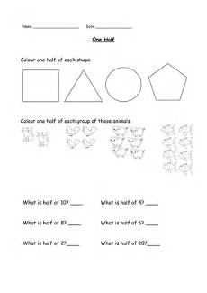 halving shapes worksheet eyfs 1106 one half resource pack differentiated ks1 fractions by jlord14 teaching resources