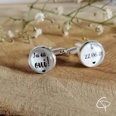 bouton de manchette mariage personnalisé boutons de manchette de mariage sur mesure pour homme