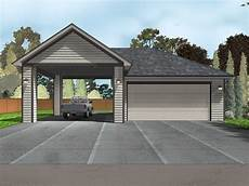 carport an garage garage plans with carport 2 car garage plan with carport