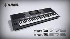 yamaha keyboard psr s975 s775