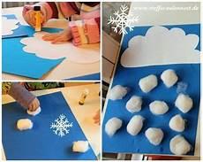 basteln mit kindern basteln f 252 r kinder schnee winter
