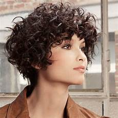 ways to sport short hairstyles for with curly hair