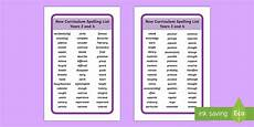 2014 national curriculum spelling list years 3 and 4 tolsby