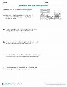 volume word problems worksheets with answers 11170 percentage word problems worksheet education