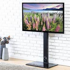 Smart Tv Halterung - fitueyes tv stand with swivel mount for up to 55 inch