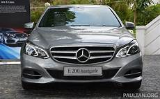 W212 Mercedes E Class Facelift Launched E 200