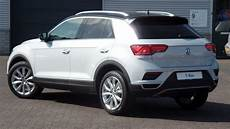 Volkswagen New 2018 T Roc Style White Silver Black Roof