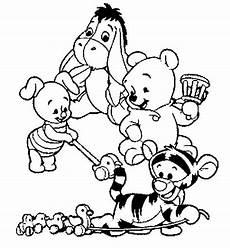 baby winnie pooh lustige malvorlagen ausmalbilder