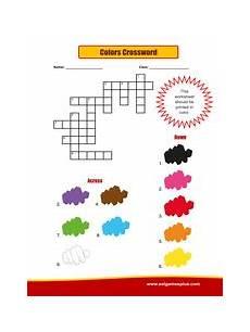 colors crossword worksheets 12726 colors crossword puzzle worksheet