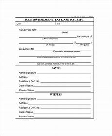 free 7 expense receipt templates in ms word pdf