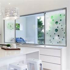 sticker occultant pour vitre et fen 234 tre bulles depoli