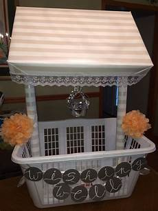 wishing well i made for my cousin s shower buy a