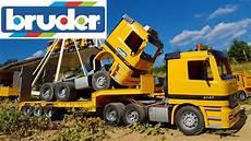 bruder toys crash compilation