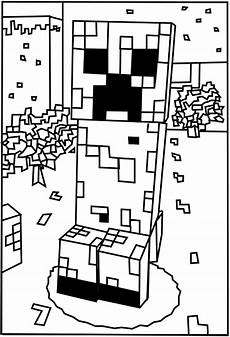 Malvorlagen Minecraft Mod Printable Minecraft Creeper Coloring Pages Minecraft