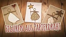 figuren aus süßigkeiten basteln figuren aus papierdraht figur aus draht und papier