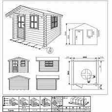 gartenhaus blockbohlenhaus spree 320 x 320 cm 28 mm ebay