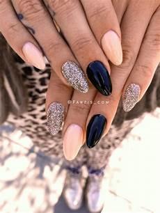 Nägel Glitzer - 98 easy simple bright summer nail designs ideas 2019