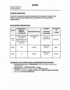 resume sles for freshers resume sles free