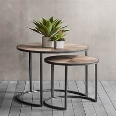Coffee Side Table fulton set of 2 nesting coffee tables modern side tables