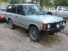 how does cars work 1987 land rover range rover on board diagnostic system 1987 range rover 4x4 classic land rover range rover 1987 for sale