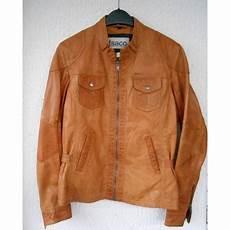 isaco cuir avis veste en cuir isaco kawa 38 m t2 marron 1791378