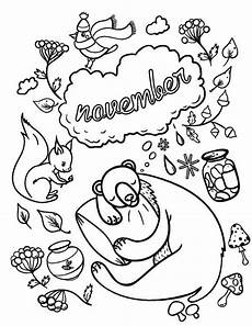 November Malvorlagen November Coloring Pages Printable Fall Coloring Pages