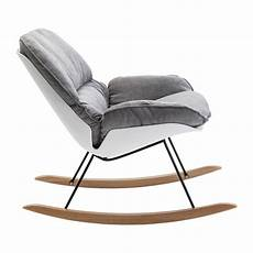 chaise a bascule scandinave
