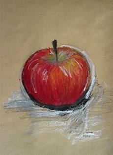 Malvorlagen Apfel Pastel Apfel Zeichnung 214 Lpastell Graphit Ioana Luca