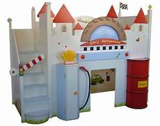 Halbhohes Kinderbett Mit Treppe - autobett kinderbett als hochbett ausgestattet mit treppe