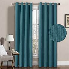 Teal Drapes Curtains by Teal Curtain Panels