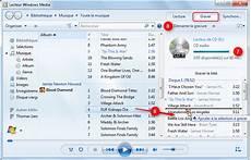 Graver Un Cd Audio Avec Windows Media Player Pei