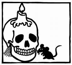 ausmalbilder totenkopf ausmalbilder
