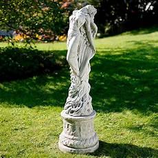 statuen für den garten garten statue sonnenengel mit s 228 ule kaufen bei