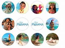 moana edible cupcake toppers 12 for sale in dalkey dublin from flour power