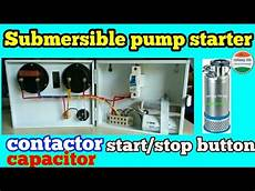 Submersible Starter Wiring Diagram With Contactor