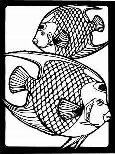 Malvorlagen Tiere Fische Zwei Fische 4 Ausmalbild Malvorlage Tiere