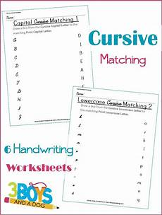 alphabet worksheets for middle school 18196 free cursive matching worksheets free homeschool deals