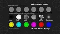 4k Fernseher Test - 4k uhd test pattern stock footage 100