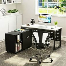 large home office furniture 55 large modern desk study writing table with file storage