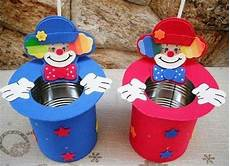dulceros con botes de leche6 dulceros fiestas infantiles dulcero de payaso y dulceros
