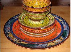 Hand painted dinnerware   Scherera Van Dyk   Me Likey
