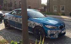 bmw m2 spotted in germany wearing very little camouflage performancedrive